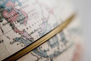 Close-up of globe by Chuttersnap from stocksnap.io