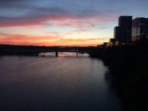 Austin sunset by Paul Normann