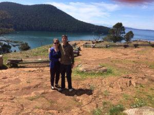 Paul Normann and Judy Walker on Fidalgo Island