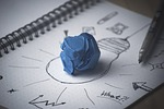 Brainstorm ideas on paper