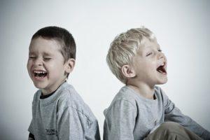 Laughing children