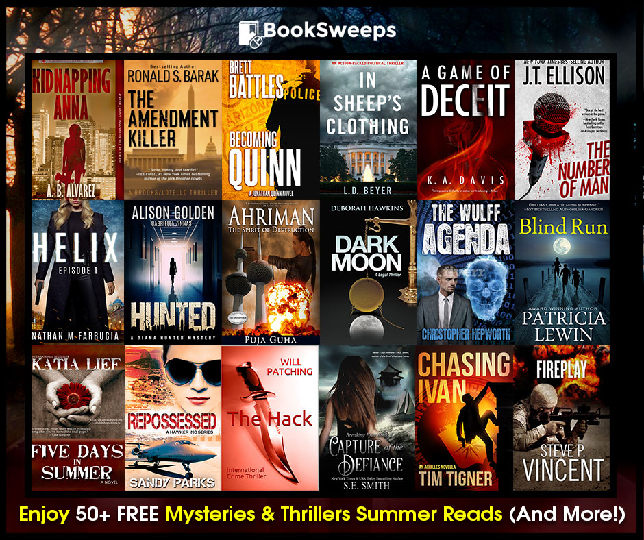 Selection of books from Booksweeps Giveaway