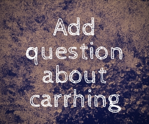 "Editing note that reads ""Ask question about carrhing"""