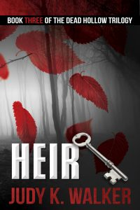 The ebook cover for Heir, Book 3 of the Dead Hollow trilogy