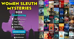 Sept 2018 Women Sleuths Giveaway
