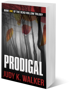 3D image of Prodigal paperback by Judy K. Walker