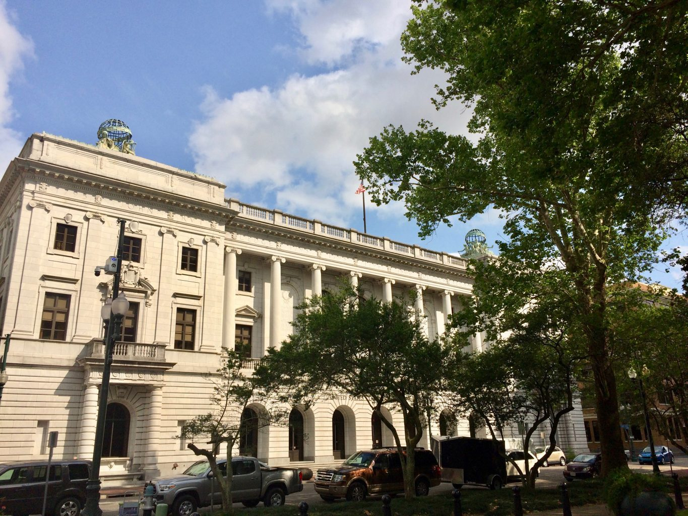 John Minor Wisdom building housing the Fifth Circuit Court of Appeals in New Orleans